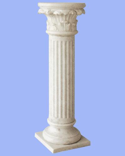 欧式大理石客厅圆柱子